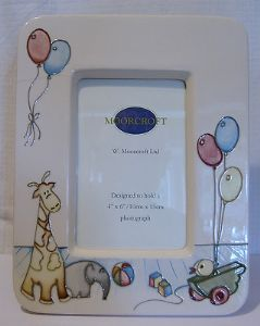 Moorcroft Pottery 'The Nursery' Photo Frame - Nicola Slaney